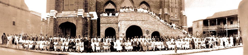 A vintage photo of Emanuel AME Church, Charleston, SC, from their website.